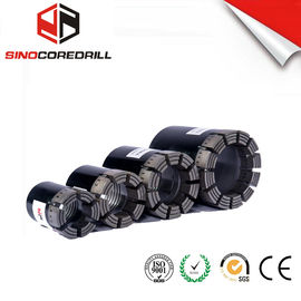 Geological Diamond Core Drill Bit , Diamond Impregnated Bits With High Speed